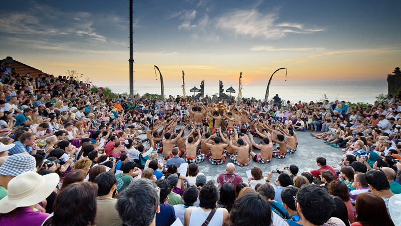 Uluwatu Sunset Temple + Kecak Fire Dance